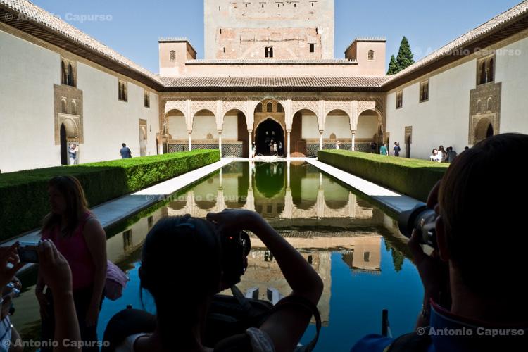 Granada - Alhambra, Patio de los Arrayanes