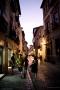 Granada - Turists in a city street
