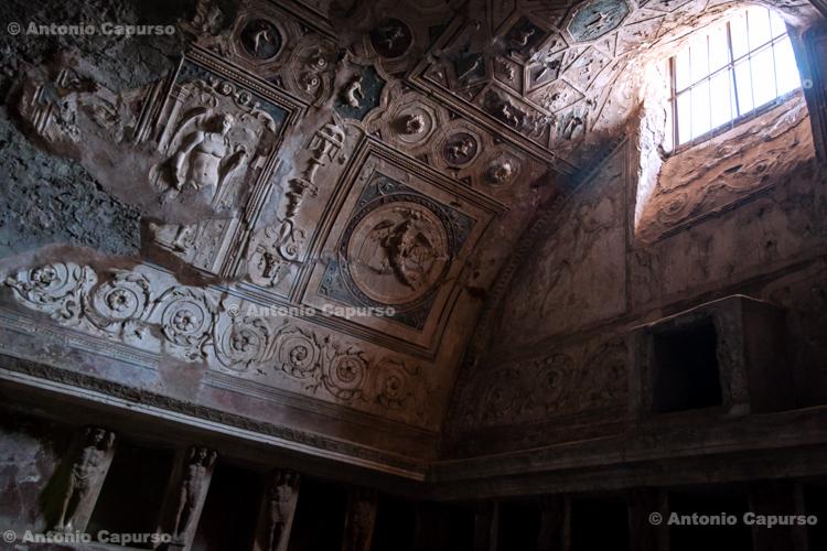 Forum Baths (Terme del Foro) in Pompeii - Campania, Italy - June 2011