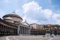 Piazza del Plebiscito, Naples - Campania, Italy - June 2011