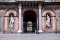 Statues of Giocchino Murat and Vittorio Emanuele in Piazza del Plebiscito, Naples - Campania, Italy - June 2011