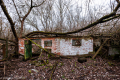 Abandoned building in Zalissya, Chernobyl area - Ukraine, 2019