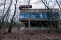 Abandoned building in Prypiat, Chernobyl area - Ukraine, 2019