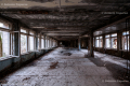 Ruined building inside in the ghost town of Prypiat (2), Chernobyl area - Ukraine, 2019