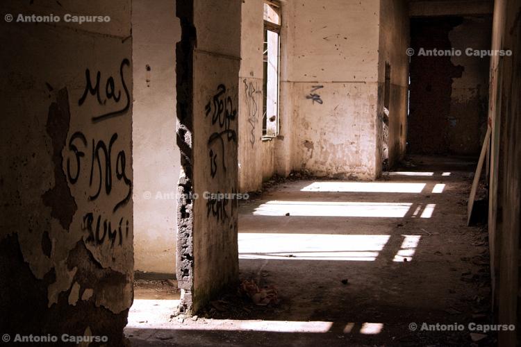 Former Marcigliana Psychiatric Hospital, now abandoned - Bufalotta, Roma - Italy, March 2010