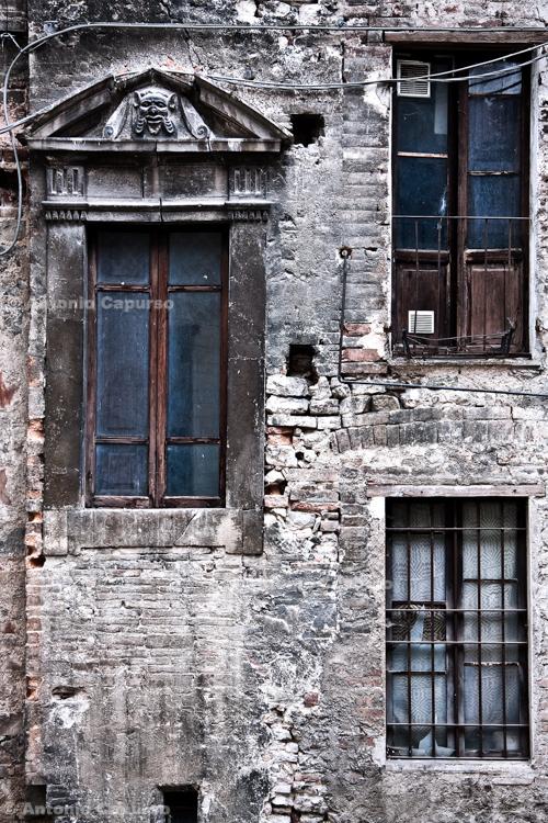 Abandoned building, Spoleto, Umbria - Italy, May 2010