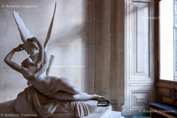 Psyche Revived by Cupid's Kiss (Louvre) - Paris, France (2016)