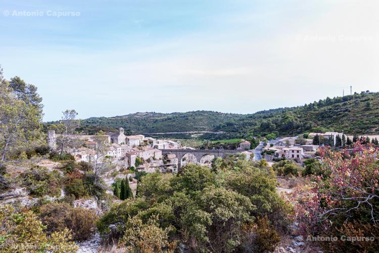 Village of Minerve in Occitanie - Minerve, France (2016)