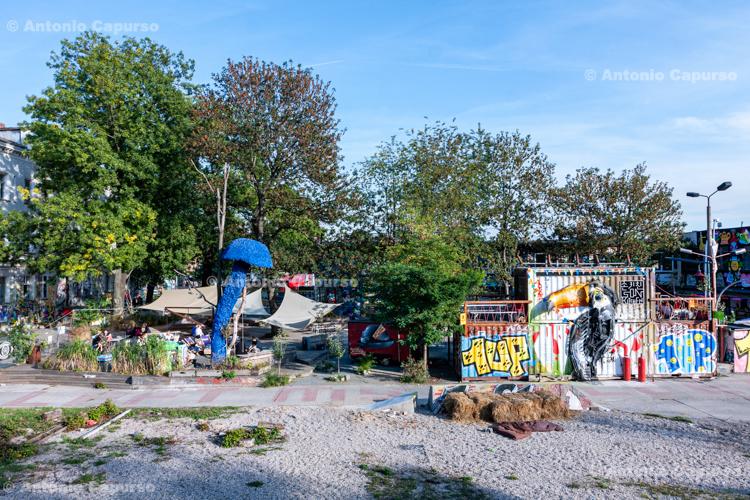 Kreuzberg district in Berlin - Germany, 2015