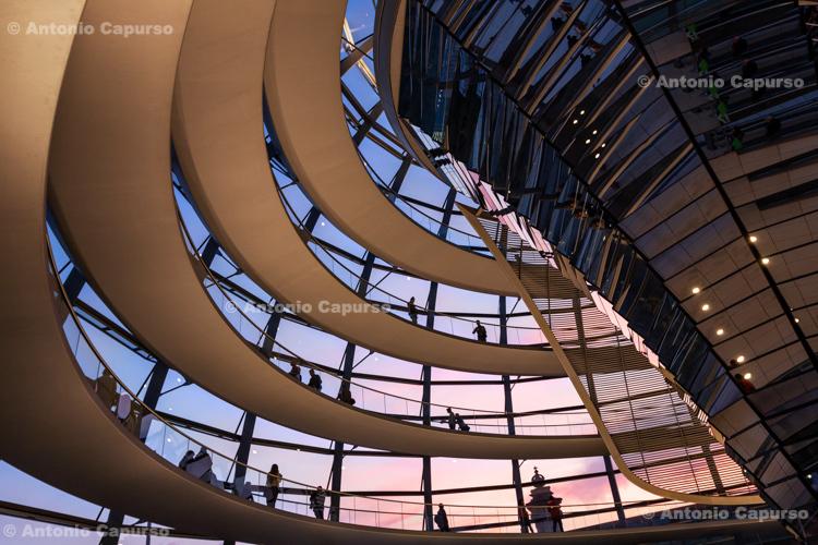 Inside the Reichstag - Platz der Republik, Berlin - Germany, 2015