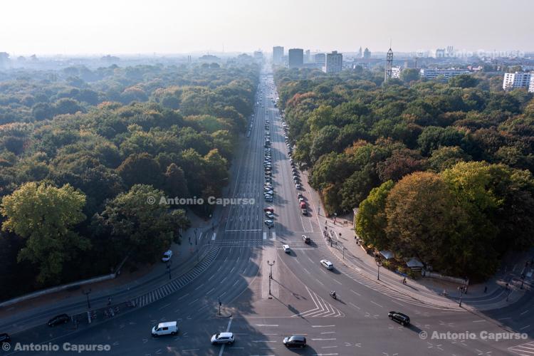 A view over the Tiergarten, Berlin - Germany, 2015