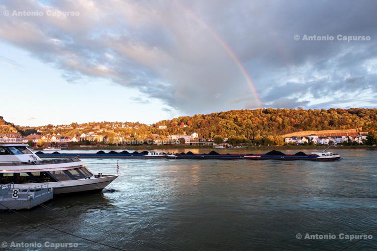 On the Rhine River, Koblenz - Germany, 2017