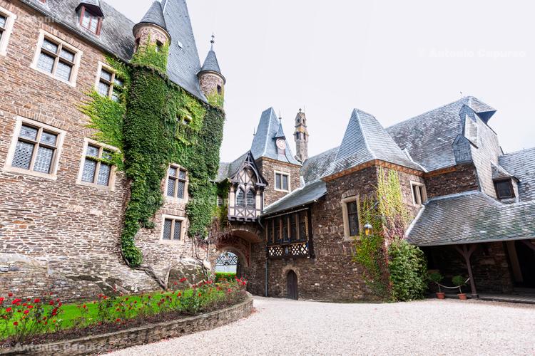 Inside Castle Cochem - Germany. 2017