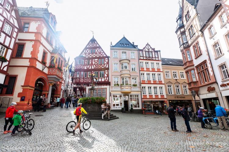 Bernkastel-Kues, city centre - Germany, 2017
