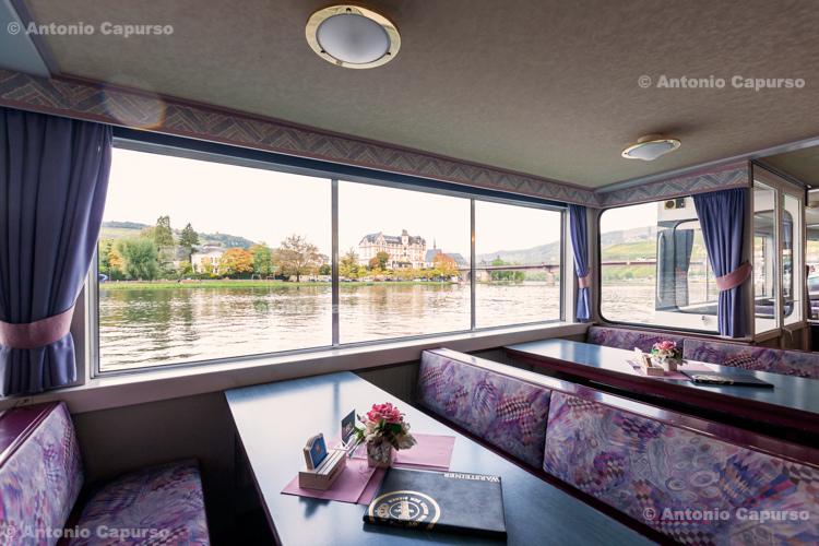 Mosel boat tour near Bernkastel-Kues - Germany, 2017