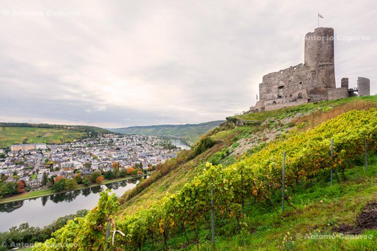 Burg Landshut and view over Bernkastel-Kues - Germany, 2017