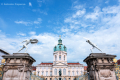 The gates of the Charlottenburg Palace, Berlin - Germany, 2015