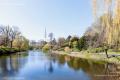 Planten un Blomen, urban park in Hamburg - Germany, 2019