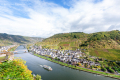 View of the Mosel RIver from Castle Cochem - Germany. 2017