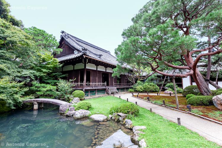 Shōren-in Monzeki, Buddhist temple - Kyoto, Japan (2018)