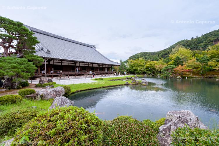 Tenryuji Temple in Arashiyama - Kyoto, Japan (2018)