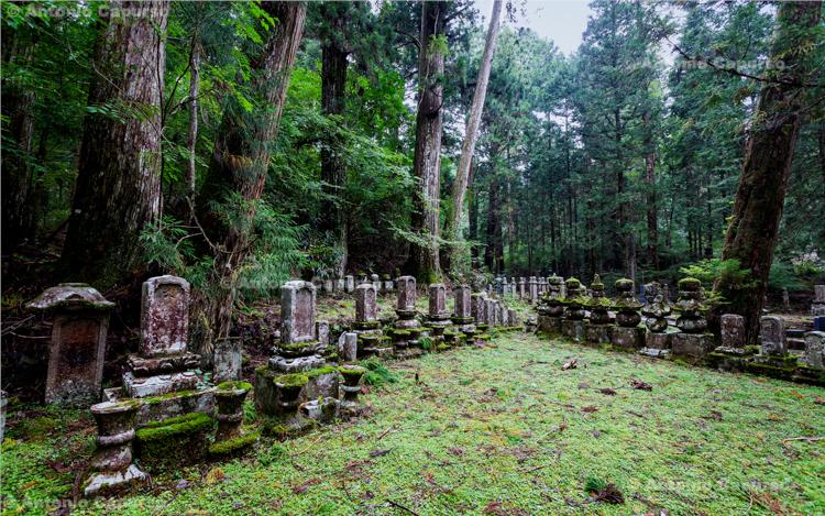Okunoin Cemetery (2), Mount Koya, Japan (2018)