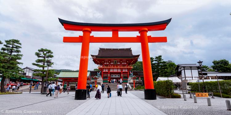 Fushimi Inari-taisha Shrine in Kyoto, Japan (2018)