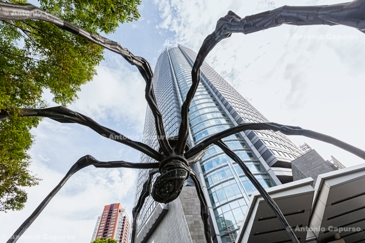 The Maman Spider next to the Mori Tower in Roppongi Hills - Tokyo, Japan (2018)
