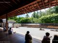 Stone garden in Ryōan-ji (Zen Temple) - Kyoto, Japan (2018)