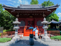 Minor shrine in the Sensō-ji Temple complex in Asakusa - Tokyo, Japan (2018)