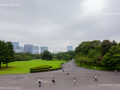 Gardens overlooking the Tokyo Imperial Palace in Chiyoda - Tokyo, Japan (2018)