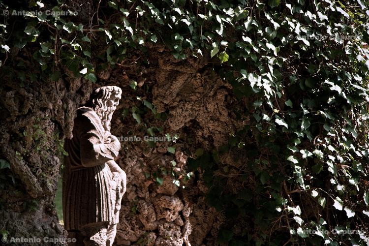 Statue in Villa d'Este, Tivoli - Lazio, Italy - April 2010