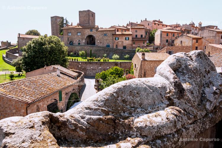 Tuscania old town - Tuscania, Lazio, Italy - 2011