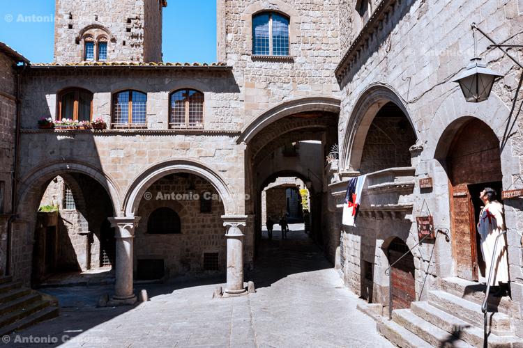 City centre, Viterbo, Lazio - Italy (April 2013)