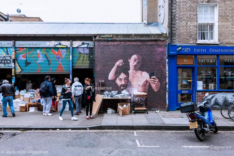 Bacon Street, Shoreditch - London, May 2014