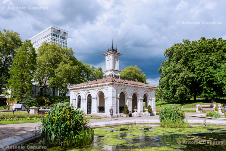 The Italian Gardens at Hyde Park - London, May 2014