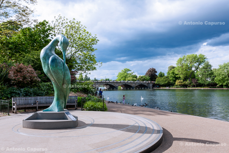 """""""Serenity"""" by Simon Gudgeon - Hyde Park - London, May 2014"""