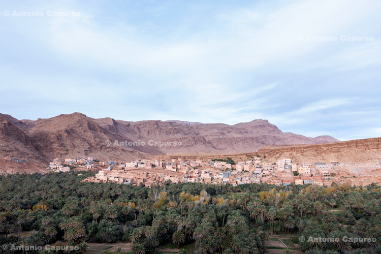 Tinghir, an oasis town south of the High Atlas - Morocco - 2015
