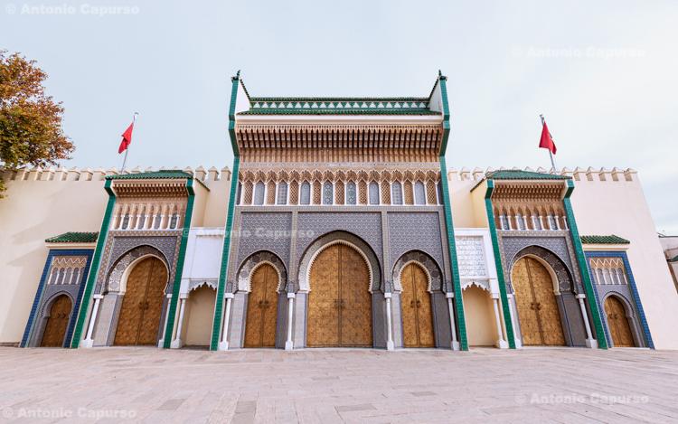 The Dar al-Makhzen (Royal Palace) of Fes - Morocco, 2015