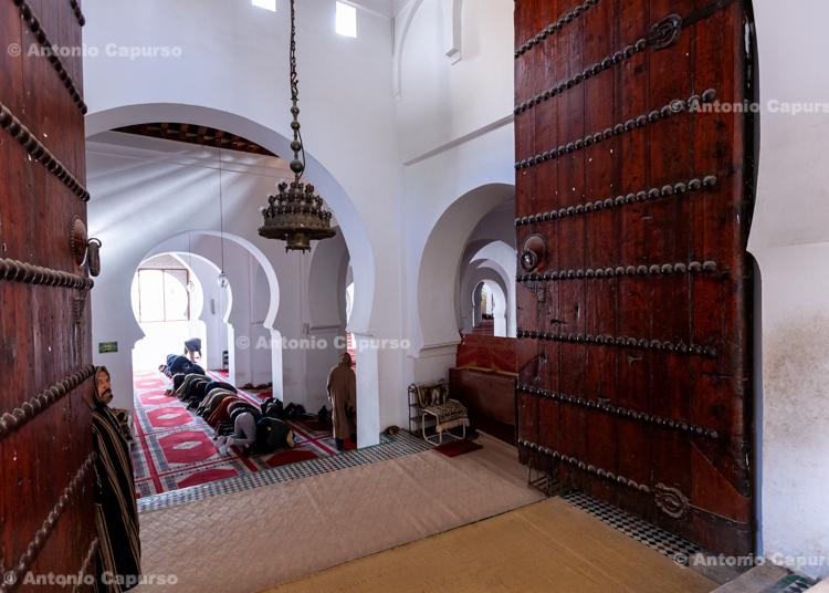 Zaouia de Moulay Idriss Mosque at the Fes Medina - Morocco, 2015