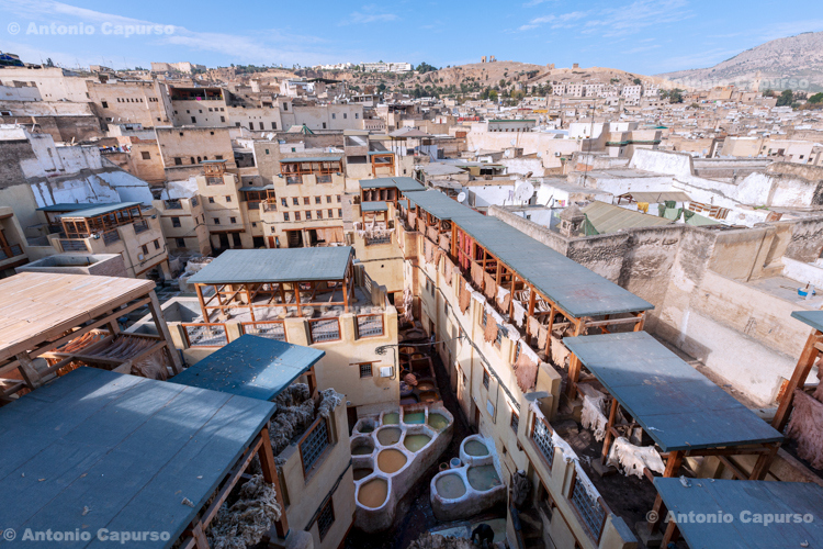 Leather Tanneries - Fes, Morocco - 2015