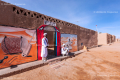 Headquarters of 'Les Pigeons du Sable' (The desert pigeons), a traditional Gnawa musical group - Merzouga, Morocco - 2015