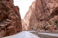 The Todgha Gorges in the eastern part of the High Atlas Mountains - Morocco - 2015
