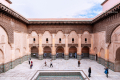 The Ben Youssef Madrasa in Marrakech - Morocco, 2015