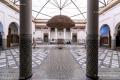 The Musée de Marrakech inside the Mnebhi Palace - Marrakech - Morocco, 2015