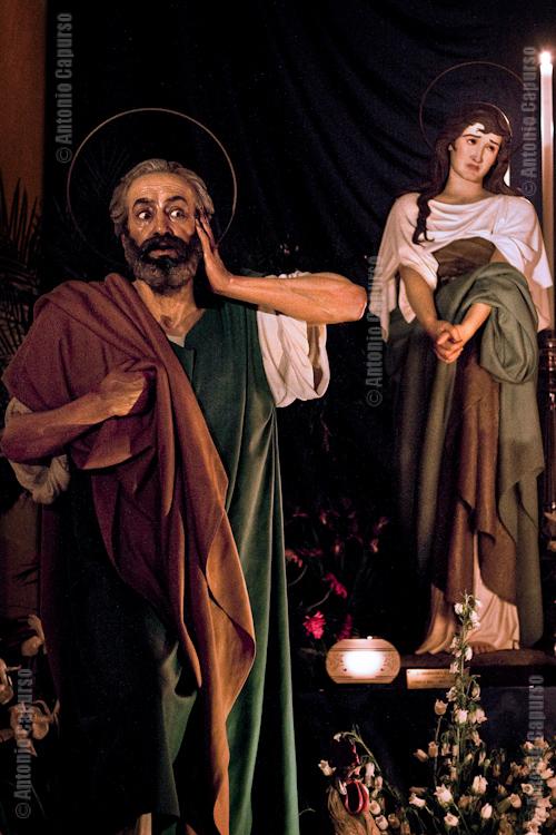Chiesa del purgatorio: Saint Peter and  Mary Magdalen