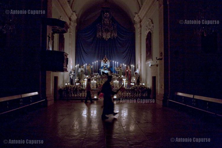 """Inside """"Chiesa del Purgatorio"""""""
