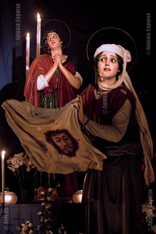 Chiesa del purgatorio: The Veronica and Saint John