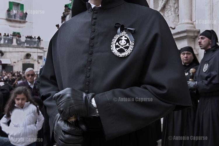 """A tunic of a """"confratello"""" (Confraternita della Morte - Fellowship of the Death)"""