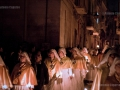 Santi Misteri: the religious procession leaves the old town